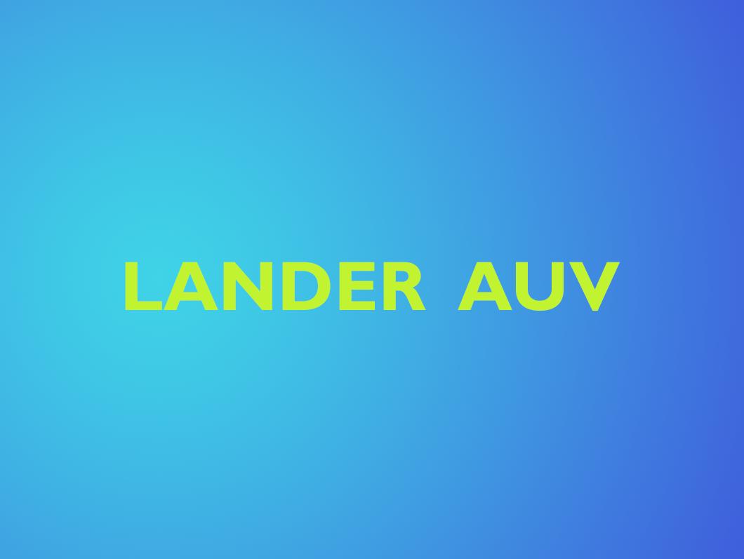 LANDER-AUV